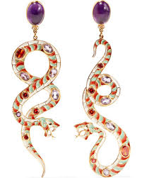 percossi papi earrings deals on percossi papi gold plated and enamel multi earrings