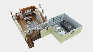 Floorplan Maker 10 25 More 3 Bedroom 3d Floor Plans Simple Free House Plan Maker L
