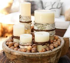 Outdoor Candle Lighting by Flameless Outdoor Candle Pottery Barn Au