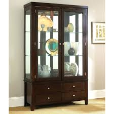 dining room corner storage cabinets tall cabinet oak unit sets