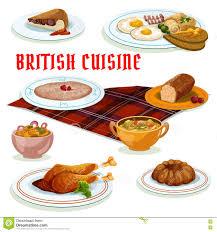 british cuisine breakfast icon for menu design stock vector