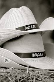 country wedding favors personalized cowboy hats favors for a country wedding