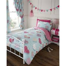 girls quilt bedding single bed peggy duvet quilt cover bedding set hearts polka dot