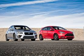 2015 subaru wrx modified all in one 2015 subaru wrx vs 2014 ford focus st head 2 head
