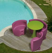 Pink Outdoor Furniture by Plastic Outdoor Furniture From Myyour Fun Fresh European Design