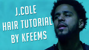 j cole hairstyle 2015 j cole hair tutorial youtube