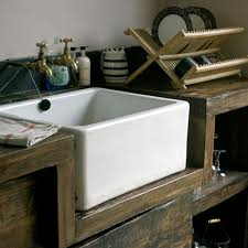 Rustic Kitchen Sink Modern Appliances Give A Rustic But Modern Atmosphere To The