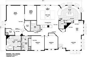 Triple Wide Floor Plans Floor Plan Bil 6940a Biltmore Series Durango Homes Built By