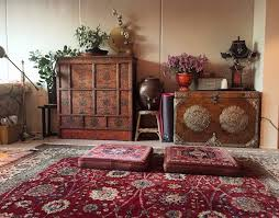 Tibetan Home Decor Interview Zamani Collection Adds Persian Carpets To China U0027s