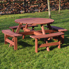 round garden u0026 patio tables ebay