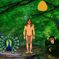 Jungle Tarzan Escape Game Wowescape