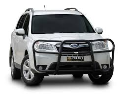 subaru forester 2016 black subaru forester ecb alloy bullbar nudge bars bull bars series my13