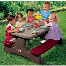 little kids picnic table buy a little tikes kids picnic table today top gifts for children