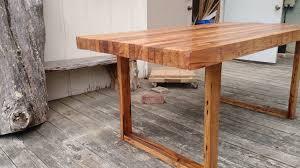 custom reclaimed chestnut table barnwood dining table by wmww