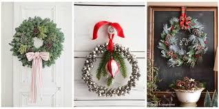 diy wreaths 40 diy christmas wreath ideas how to make a