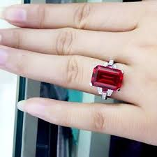 emerald rings wholesale images Emerald cut loose cubic zirconia and synthetic ruby sapphire jpg
