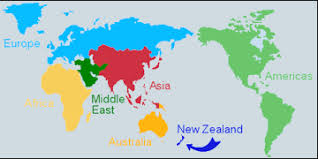 australia world map location location of new zealand on world map travelsfinders
