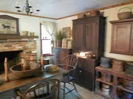 Country Primitive Home Decor 1832 Best Primitive Colonial Rooms Images On Pinterest Primitive