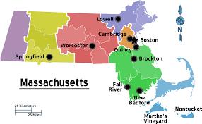 Map Of Massachusetts Counties by Map Of Massachusetts Regions U2022 Mapsof Net