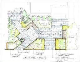 landscape architecture garden design zoomtm plan idea for backyard