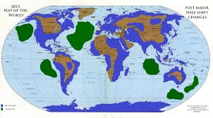 Peters Projection Map New World Land Maps After A Global Pole Shift Opinions And