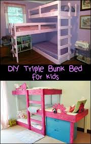 Make A Triple Bunk Bed by