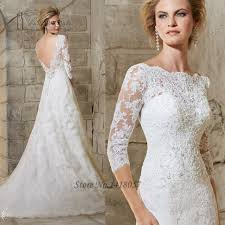 lace backless wedding dress lace backless wedding dresses beaded a line bridal gowns