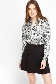 paisley blouse silky mono paisley blouse just 5