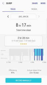 Sleep Number Bed Error E3 Gear S3 Sleep Tracker Samsung Community 45366