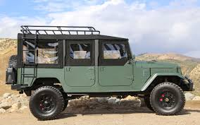 military jeep side view icon toyota fj44 four door for sale only 157 000 truck trend news