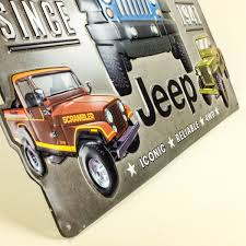 happy birthday jeep images jeep since 1941 collage embossed garage tin sign vintage style