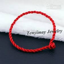 lucky red bracelet images 2018 twisted cotton bracelets wholesale cheap red black chinese jpg