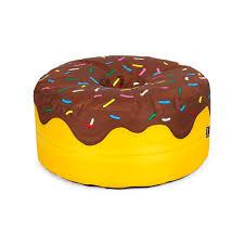 donut bean bag chocolate from woouf donut love