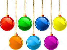 christmas colour balls u2014 stock vector dazdraperma 1138192