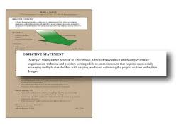 career objective statements best template collection