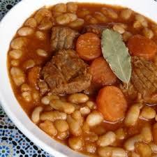 cuisiner haricots blancs secs recette haricots blancs aux cubes de veau recettes maroc