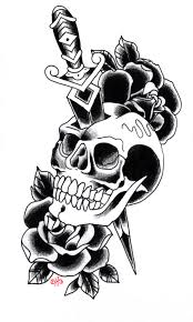 free skull tattoo designs cool tattoos bonbaden