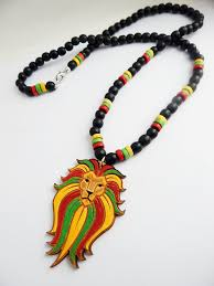 men necklace jewelry images African rasta lion mens necklace lion jewelry hand painted jpg