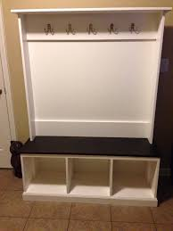 Ikea Entryway Bench Mudroom Mudlocker Hall Trees Entranceways Benches Tables