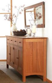 in stock modern shaker long sideboard buffet solid wood