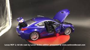 lexus rc f gordon ting lexus rcf blue youtube