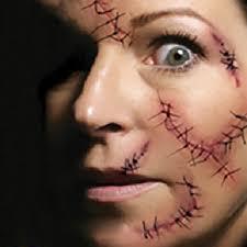 aliexpress com buy 3pcs april fool u0027s day zombie scars tattoos