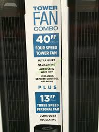 sunter tower fan costco costco 1013422 sunter tower fan combo spec costcochaser