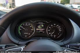 Audi E Tron Interior 2016 Audi A3 Sportback E Tron Pricing Announcement Quattroworld