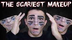 the scariest makeup you u0027ll ever see youtube