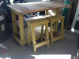 island tables for kitchen with stools diy pallet kitchen island table with stools pallet furniture plans