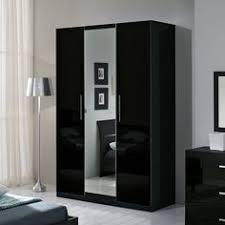 armoire chambre noir laqué armoire et blanche laqué design eline meubles chambre