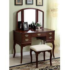 Oak Makeup Vanity Table Solid Wood Vanity Table Affordable Modern Home Decor Best
