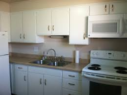 modern white nuance of the kitchen paint color with maple cabinets