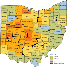 Franklin County Ohio Map by Best Big Buck States For 2014 Ohio Game U0026 Fish